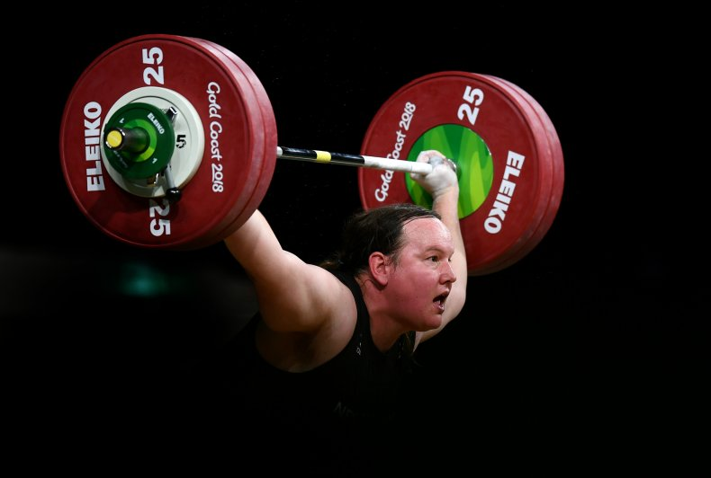Laurel Hubbard Weightlifter