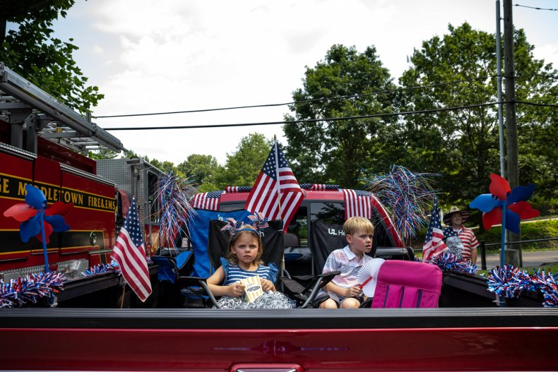 July 4 Independence Day celebrations with children