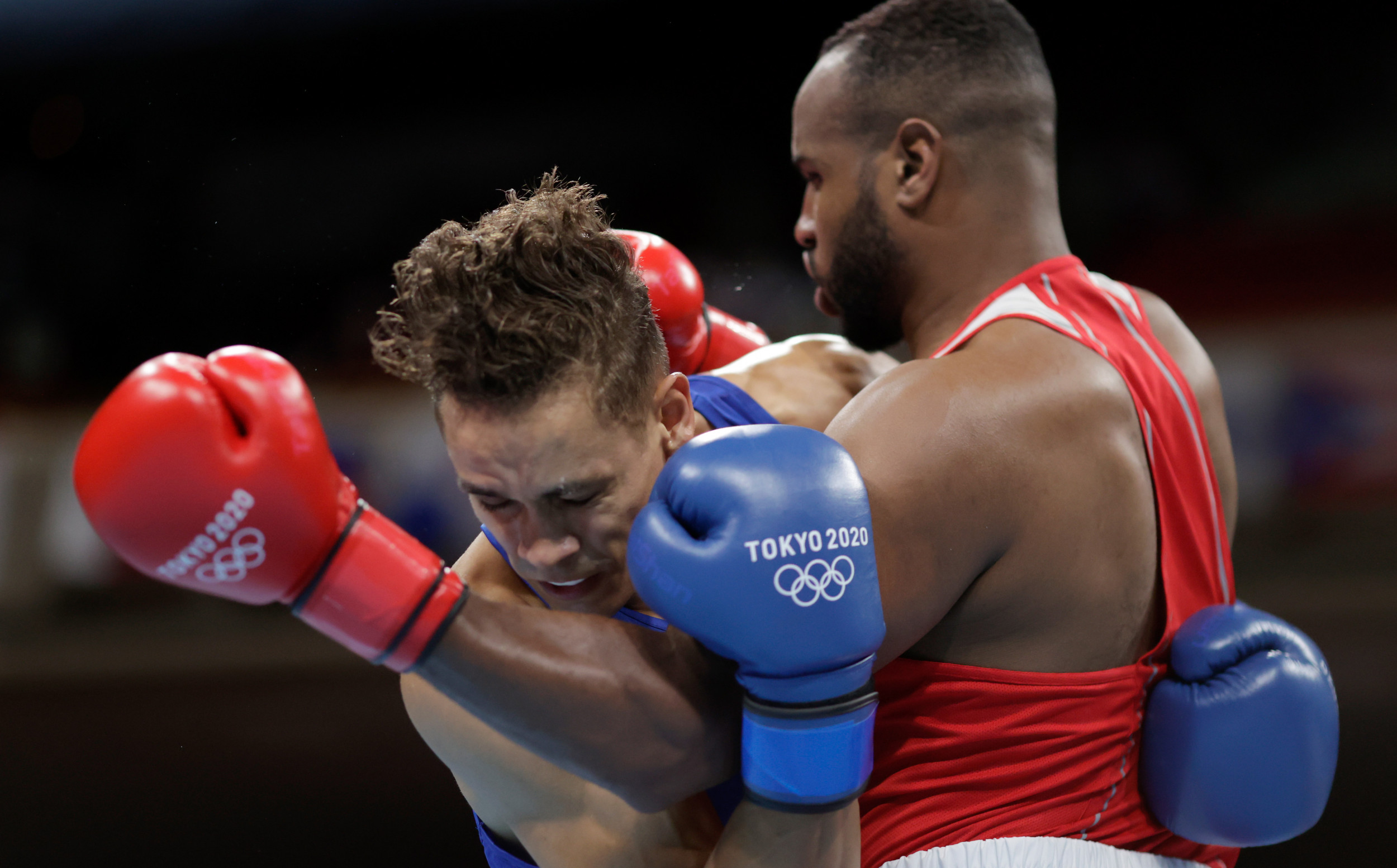 Boxer Youness Baalla Tries to Bite Off Opponent's Ear During Olympics Fight