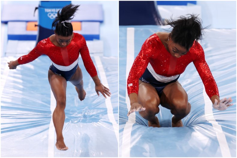 Simone Biles out of Olympics gymnastics final