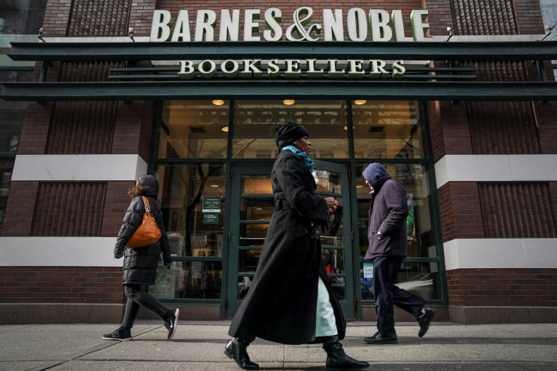 Barnes and Noble store in New York