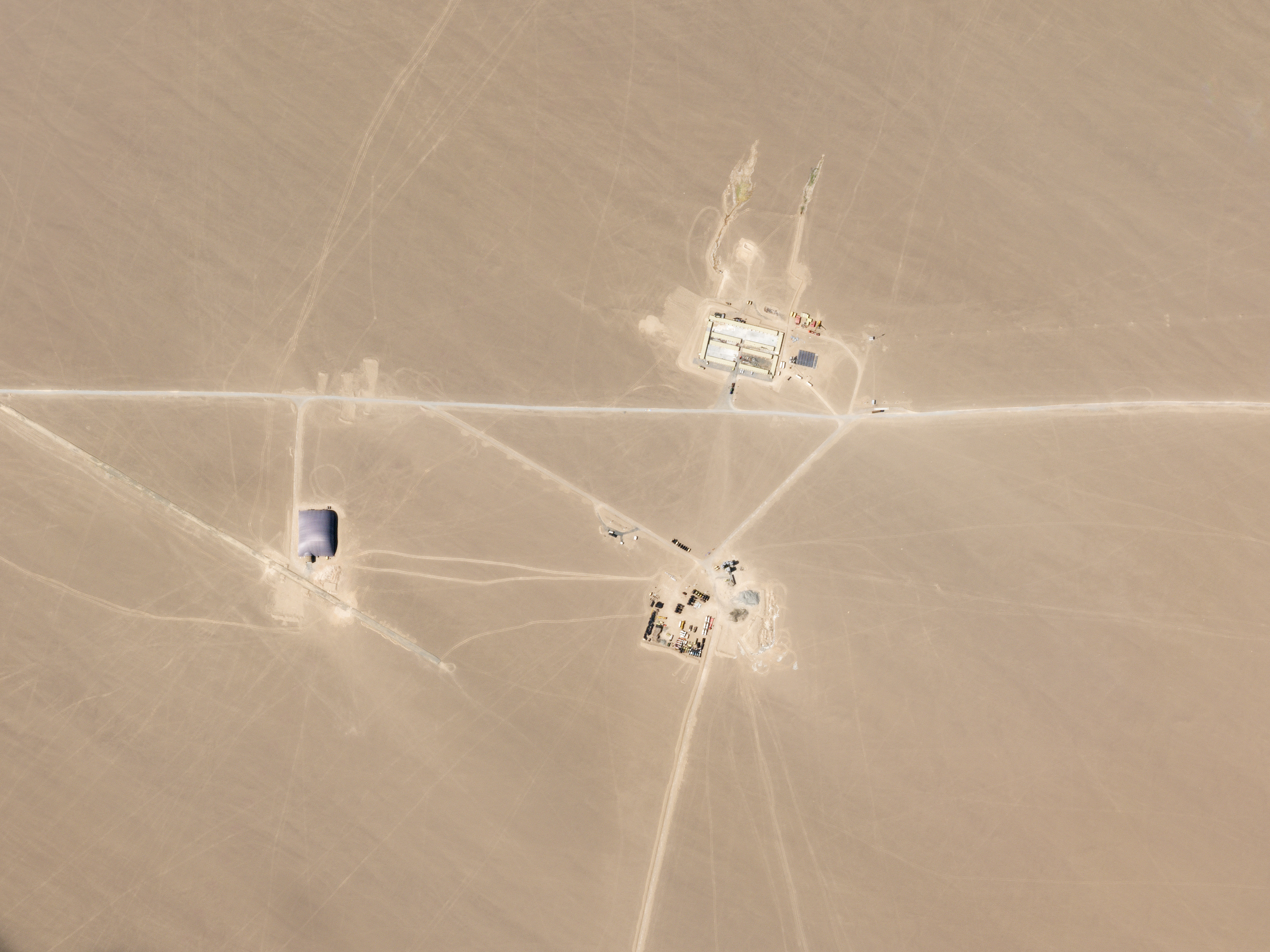 China Spotted Building 110 Secret Nuclear Missile Bases in Desert