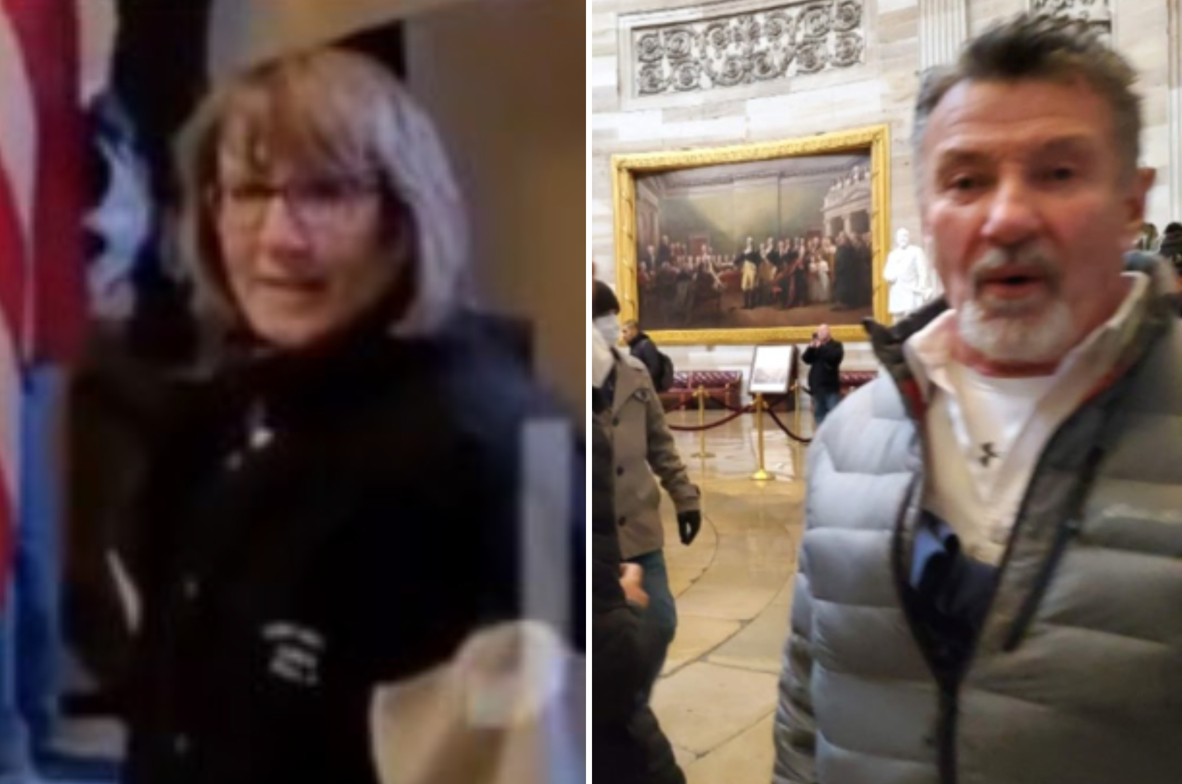 Couple Charged Over Capitol Riot After Being Identified in YouTube Video