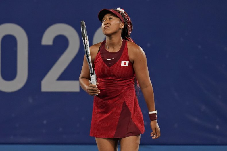 Osaka Says Olympic Loss Was Great Disappointment