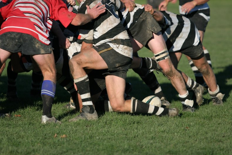 rugby team, getty