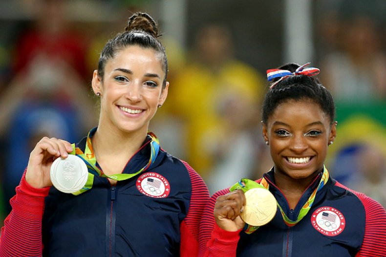 Simone Biles Aly Raisman USA Gymnastics Olympics