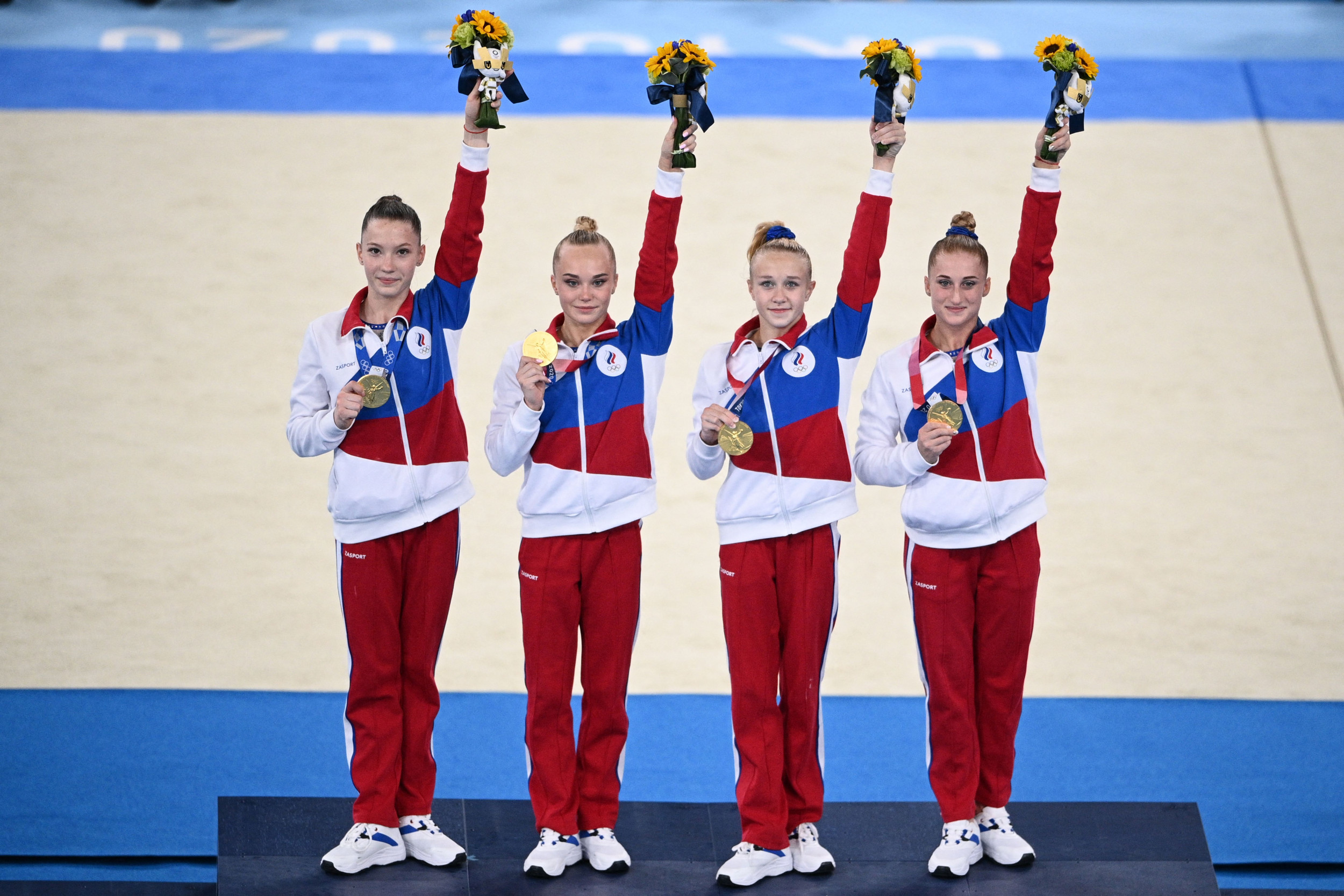 Russian Media Hail Gymnasts As 'Best in the World' After Beating Team USA