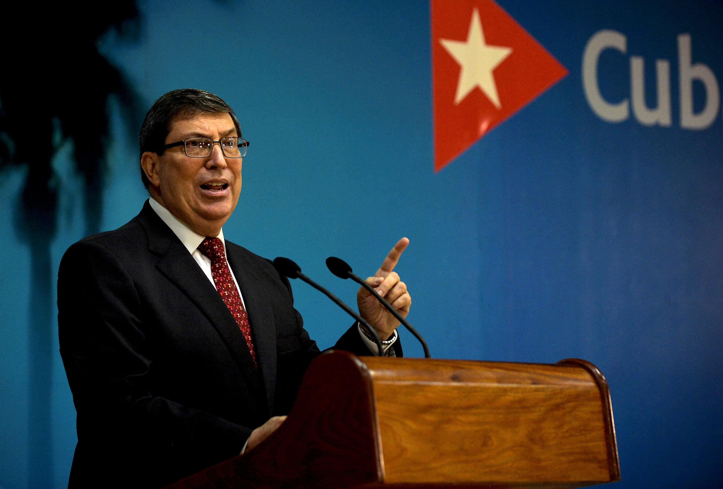 Cuba's Foreign Minister Blames U.S. After Paris Embassy Attacked