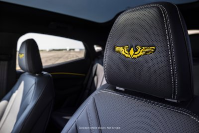 2021 Ford AirVenture Mustang Mach-E concept car
