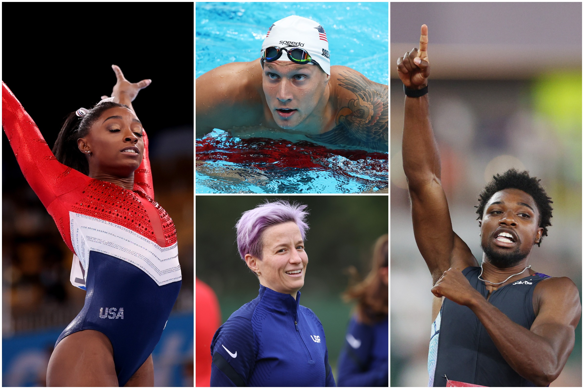 Team USA's Gold Medal Favorites in 2020 Tokyo Olympics