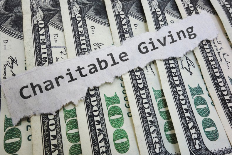 Charitable Giving stock image