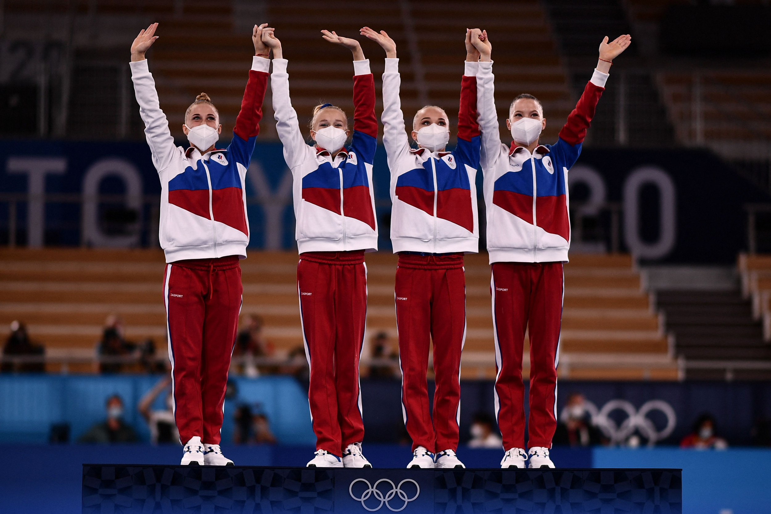 Russian Gymnast Says Team 'Didn't Waste Our Chance' After Simone Bile Exit