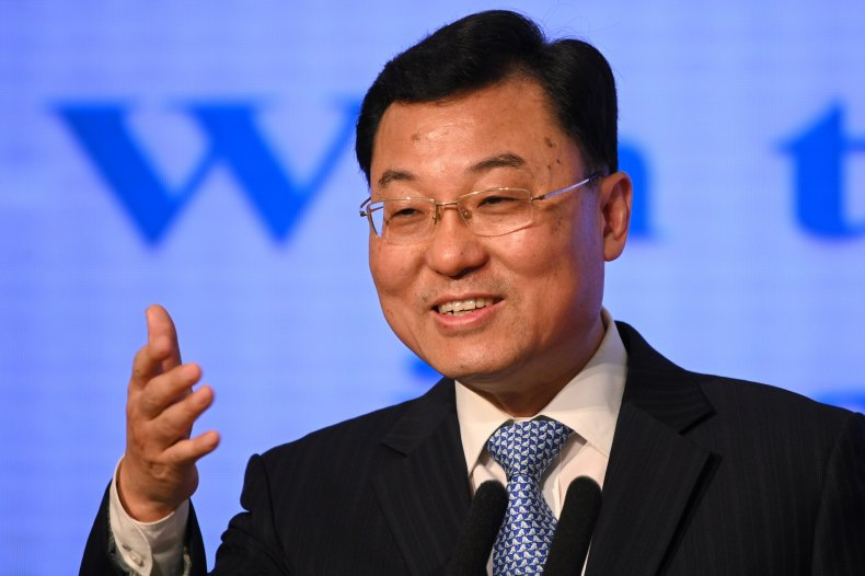 China Foreign Ministry Official Addresses Media