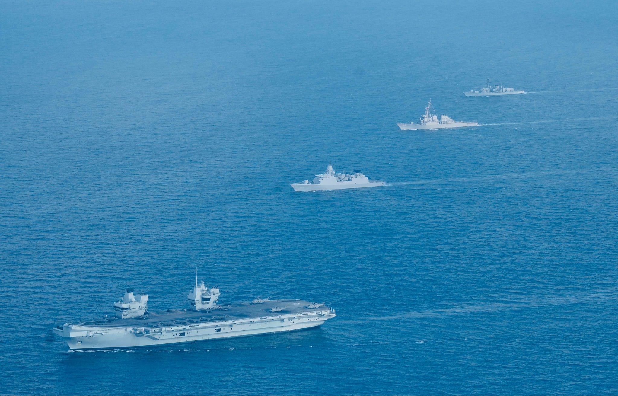 Germany Sends Warship to South China Sea