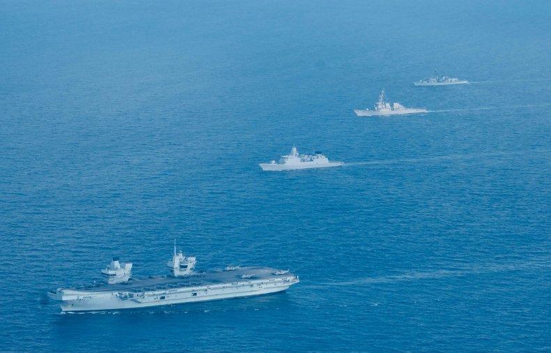 Alliierte Kriegsschiffe führen Übungen im Südchinesischen Meer durch