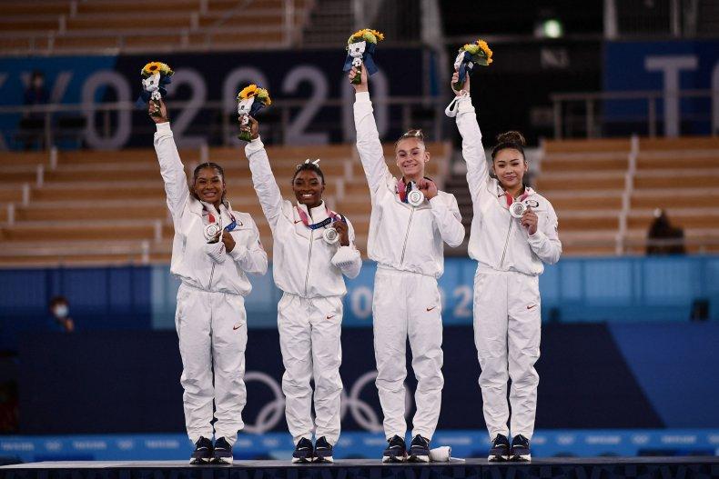 USA Gymnastics Silver Medal