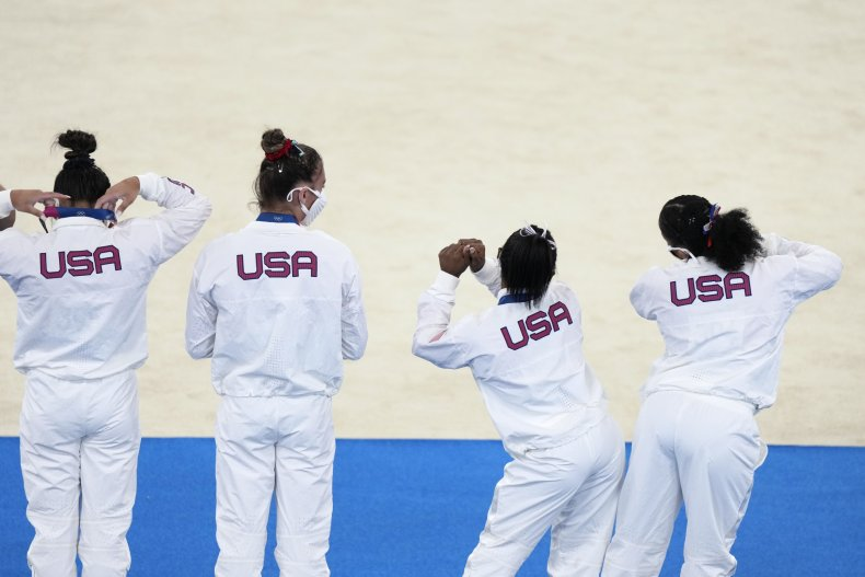 Chiles Applauds Biles For Who She is