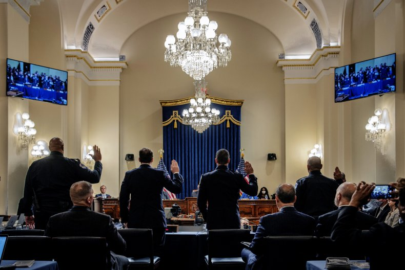 First Jan. 6 Commission Hearing
