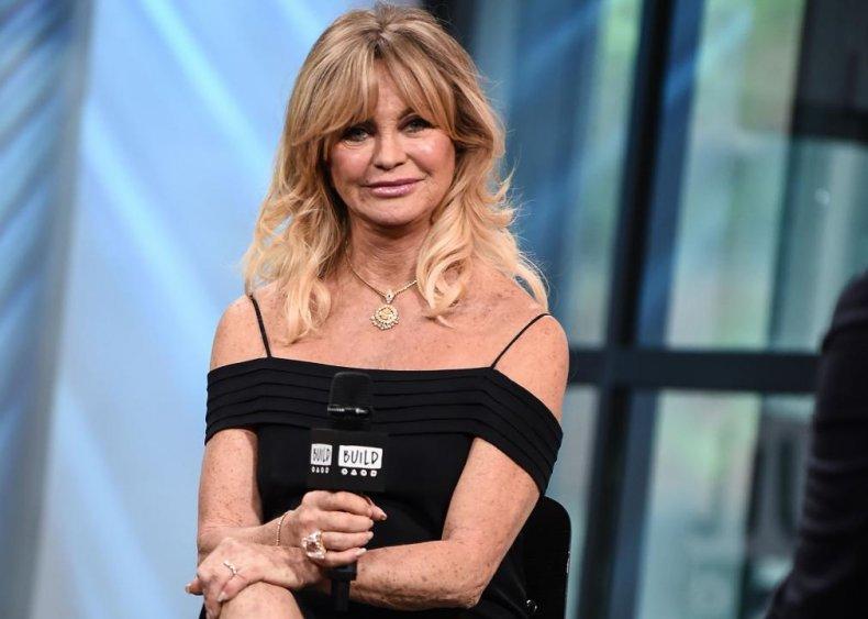Goldie Hawn: Go-go dancer