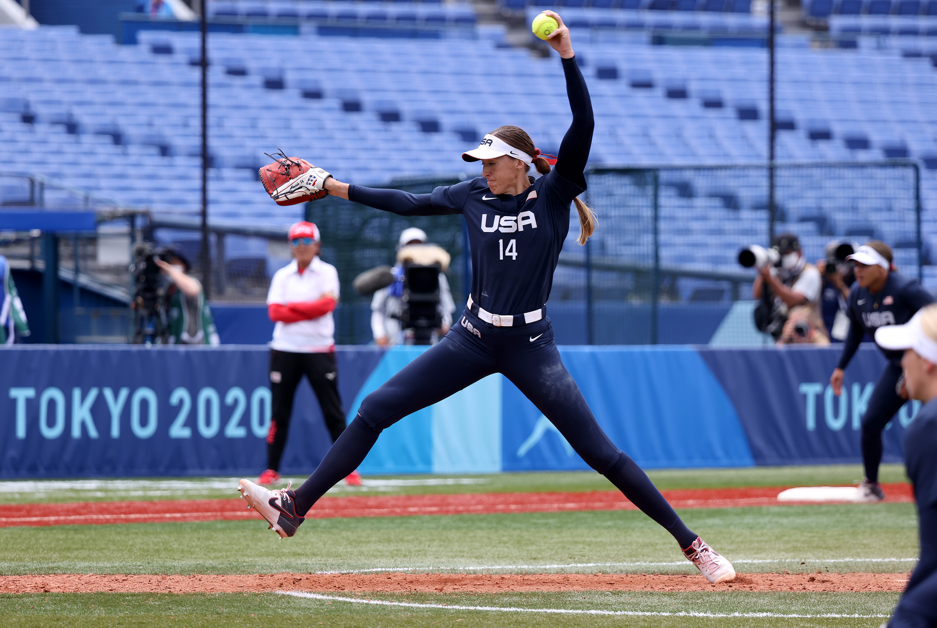 Monica Abbott Challenges IOC to Permanently Play Olympic Softball