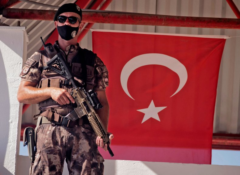 Turkish soldier in Cyprus
