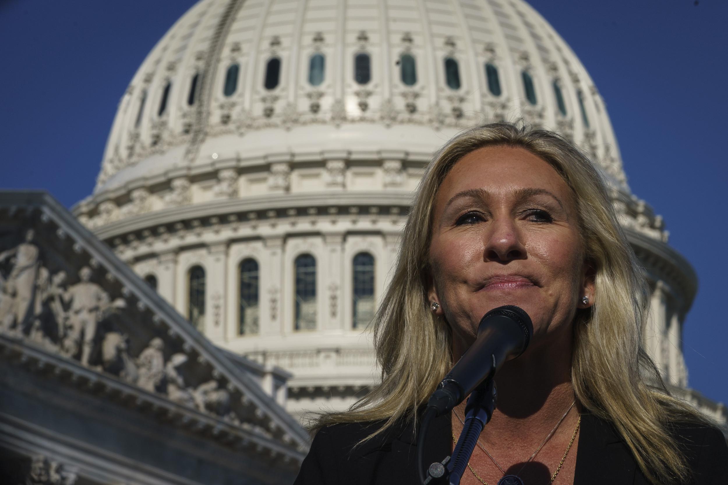 Marjorie Taylor Greene Says 'History' Proves That Joe Biden is a Communist