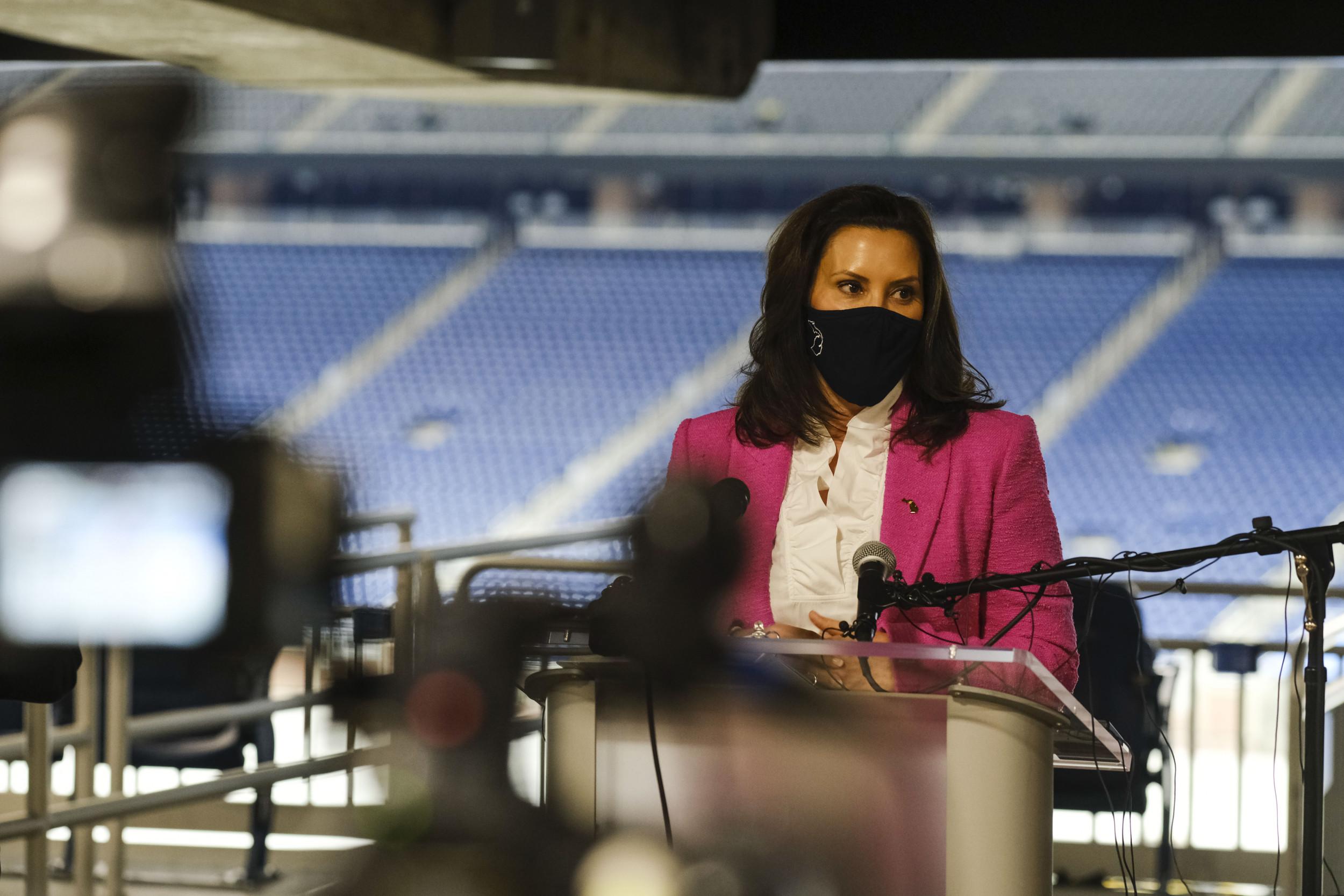 Michigan Gov. Whitmer Will Not Restart Mask Mandate Despite CDC Guidance