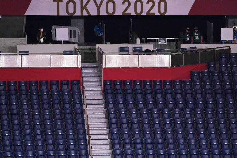 Tokyo Olympics Held Without Fans In Stadiums