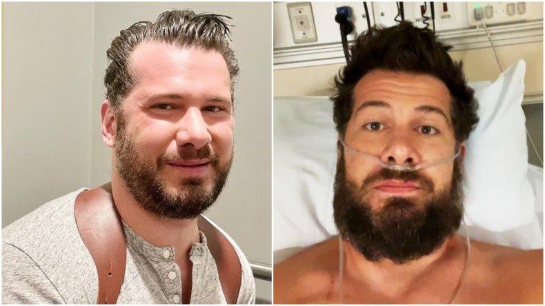 Steven Crowder shares selfie from hospital bed