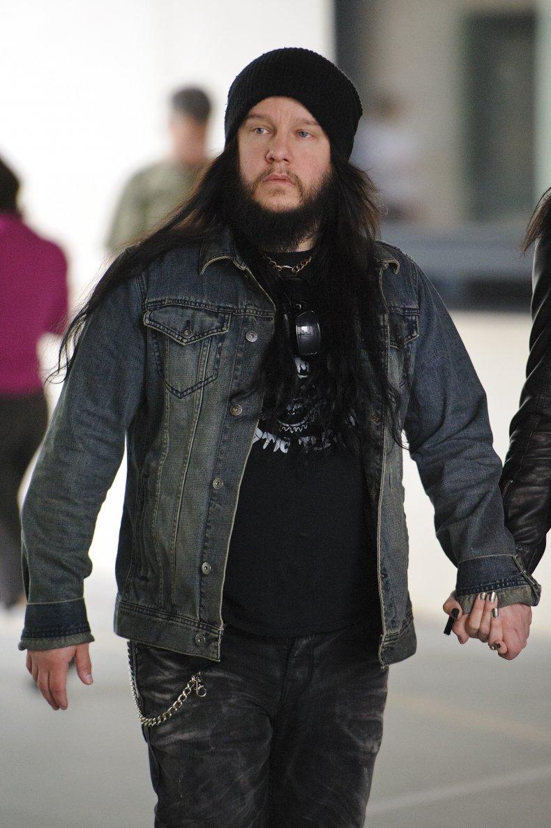 Slipknot's Joey Jordison in London, U.K.