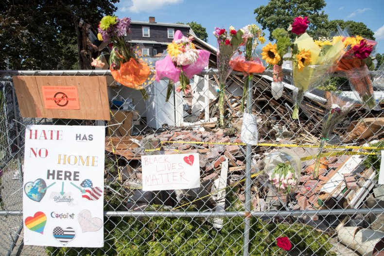 Memorial for Winthrop, Mass. hate crime