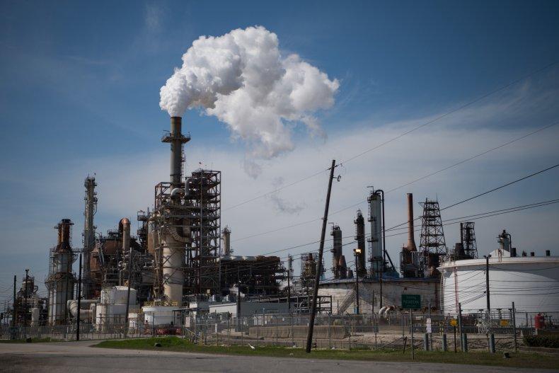 LyondellBasell Plant Near Houston