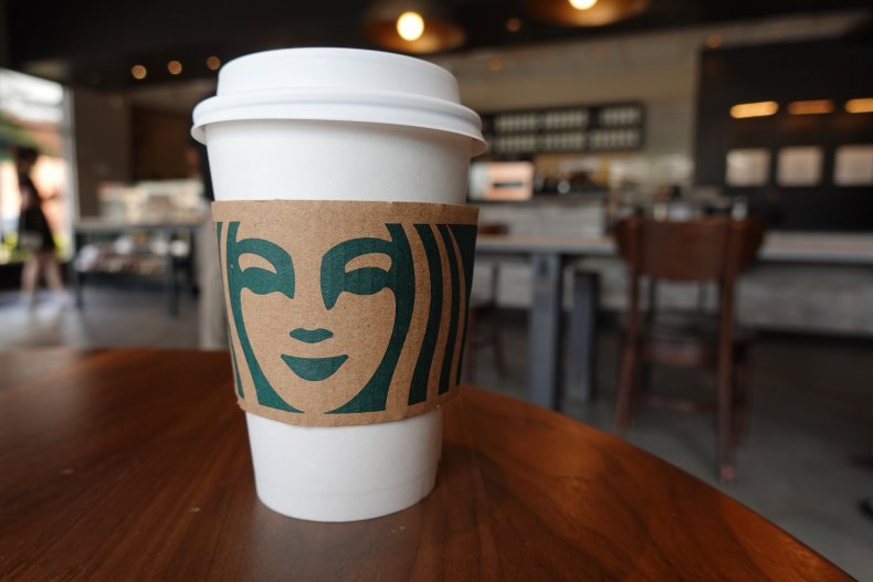 Starbucks customer allegedly finds 'mysterious clump'