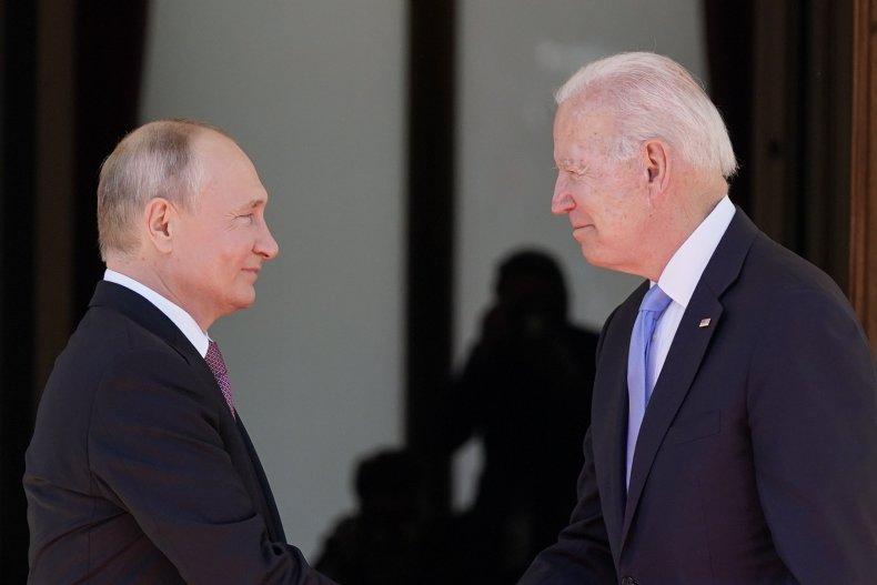 Putin and Biden meet in Geneva