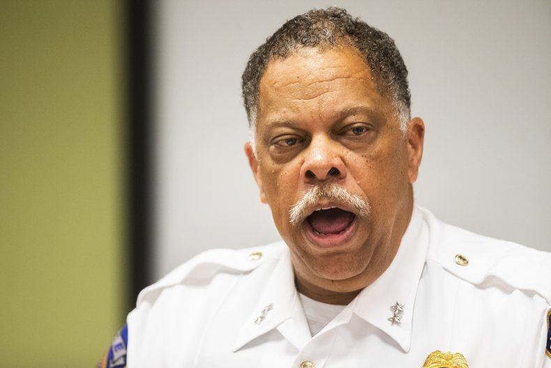 IMPD Chief Randal Taylor