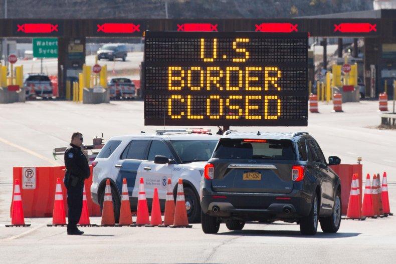 US/Canada Border Closure