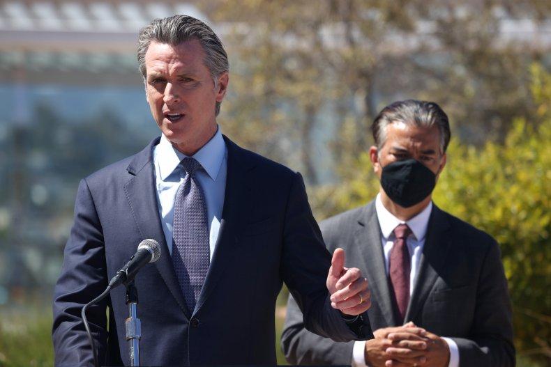 Gov. Gavin Newsom Calls For Federal Support