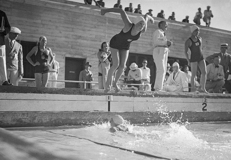 Helene MADISON 1932 Los Angeles