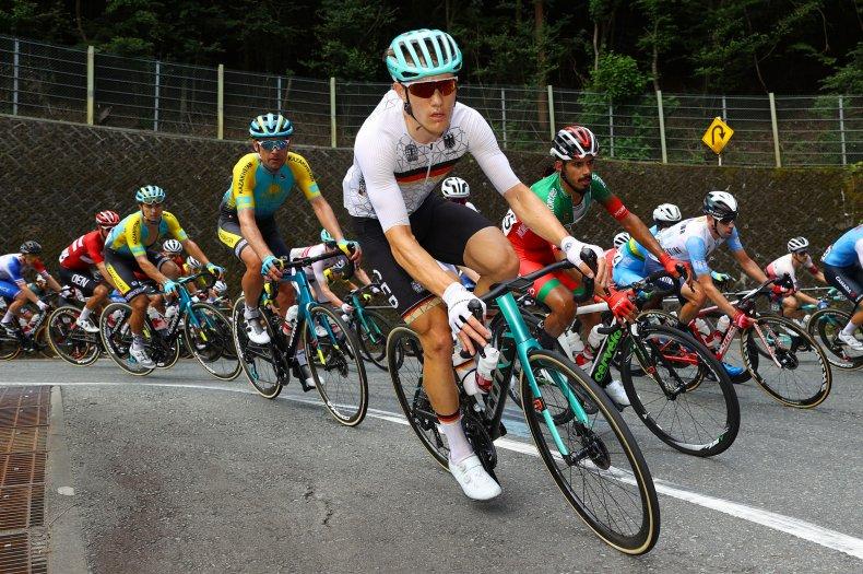 Nikias Arndt of Team Germany