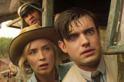 A production still from Jungle Cruise