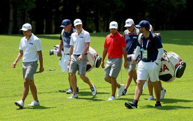 Team USA golf
