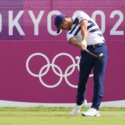 Xander Schauffele at the Tokyo Olympics