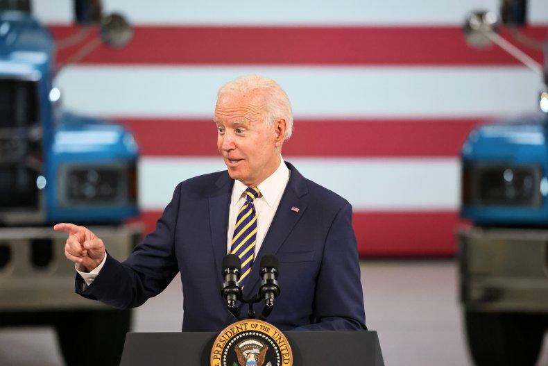 President Joe Biden Speaks in Macungie, Pennsylvania