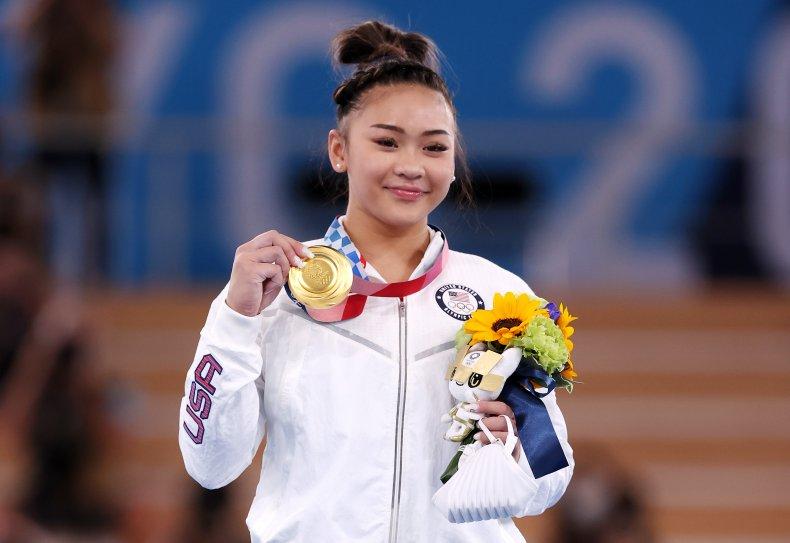 Sunisa Lee wins gold at Tokyo Olympics