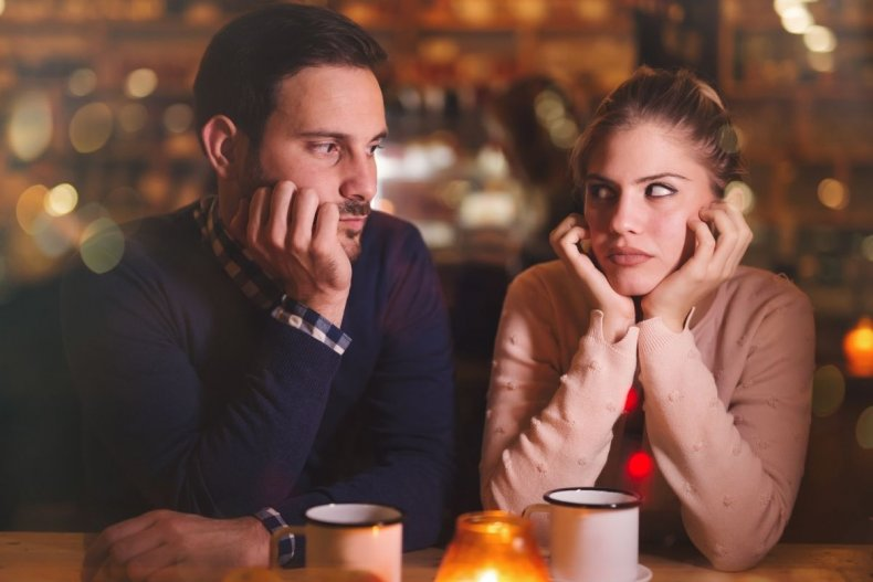 File photo of couple on bad date