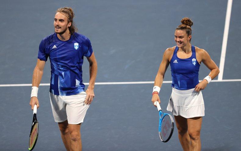 Stefanos Tsitsipas/Maria Sakkari Tennis