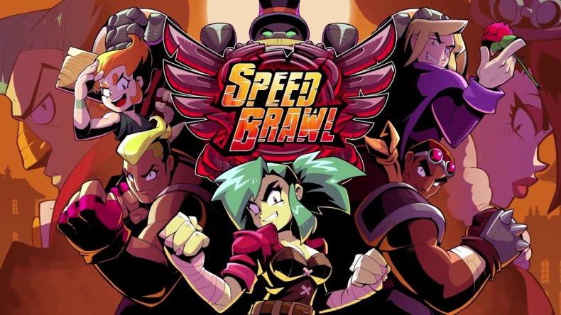 Speed Brawl Keyart