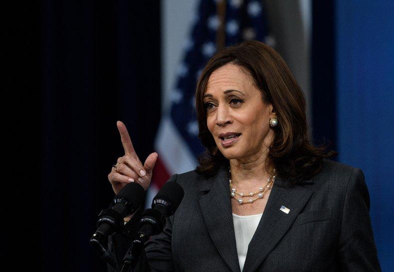 U.S. Vice President Kamala Harris