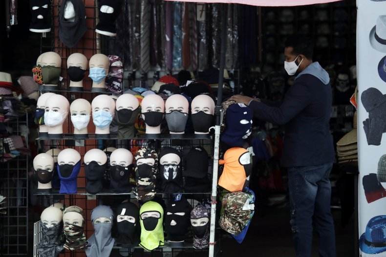 Mask Sales Rise