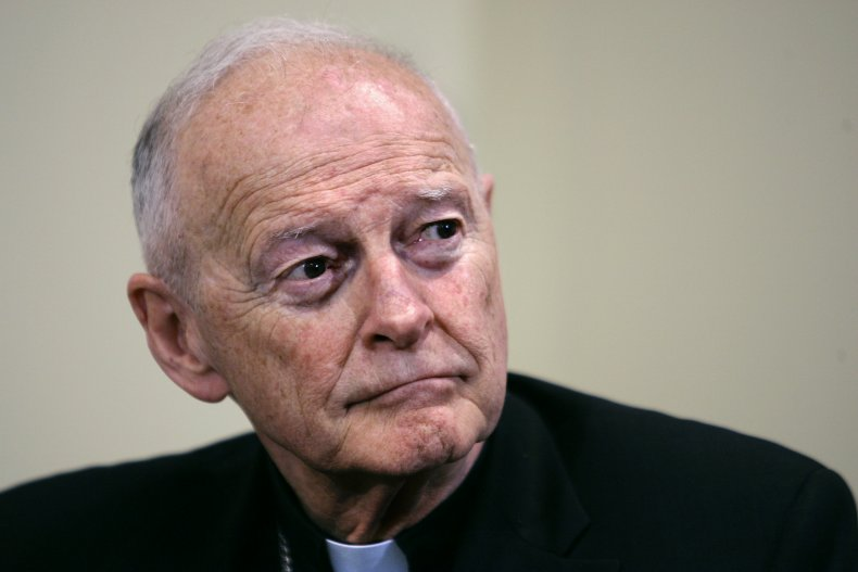 Ex-Cardinal Theodore McCarrick charged with sexual assault